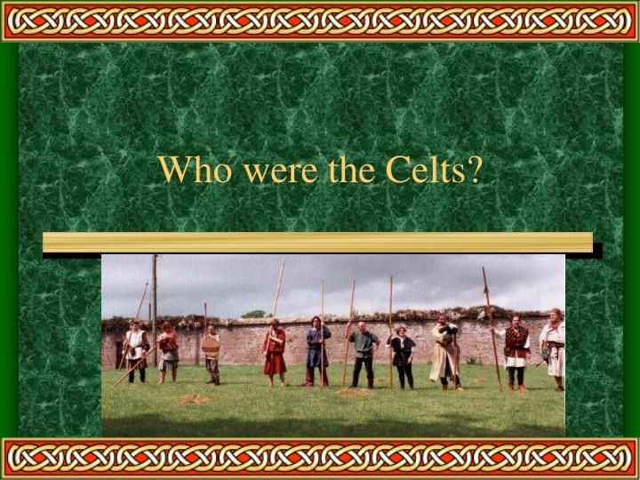 who were the celts n.