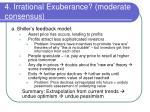 4 irrational exuberance moderate consensus1