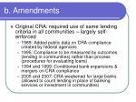 b amendments