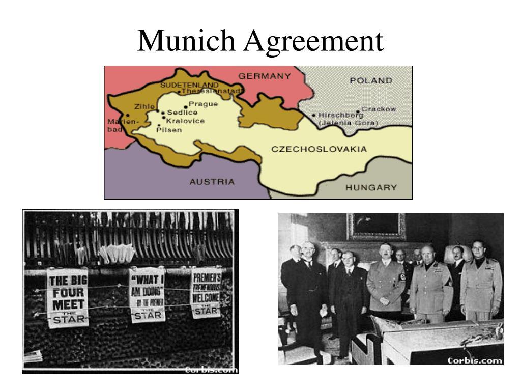 Ppt Munich Agreement Powerpoint Presentation Id5333006