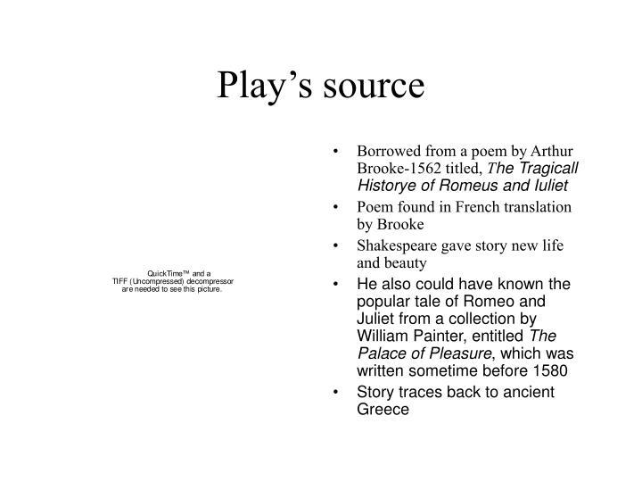 Play's source