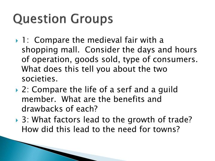 Question Groups