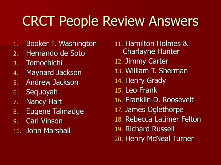 crct people review answers n.