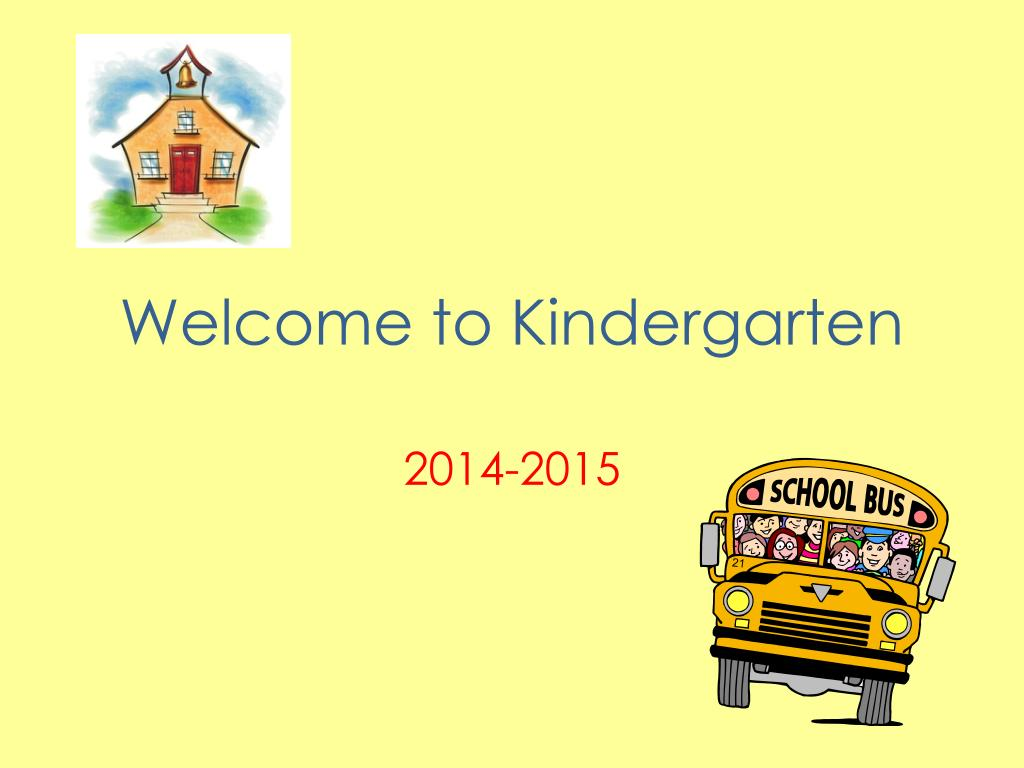 ppt welcome to kindergarten powerpoint presentation id 5333533