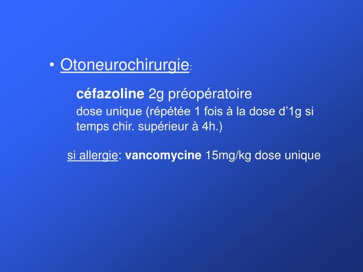 Otoneurochirurgie
