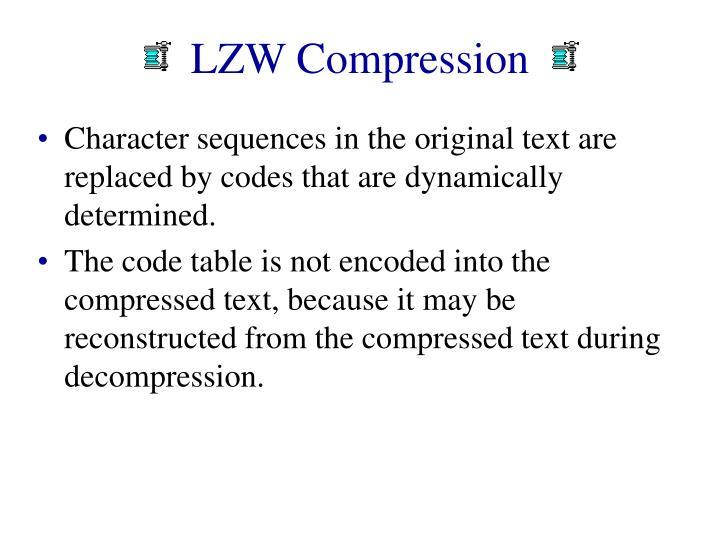 LZW Compression