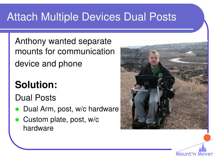 Attach Multiple Devices Dual Posts