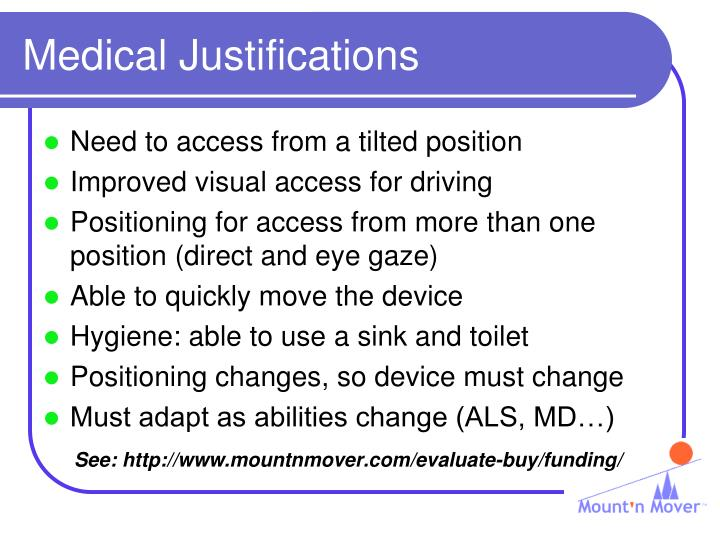 Medical Justifications