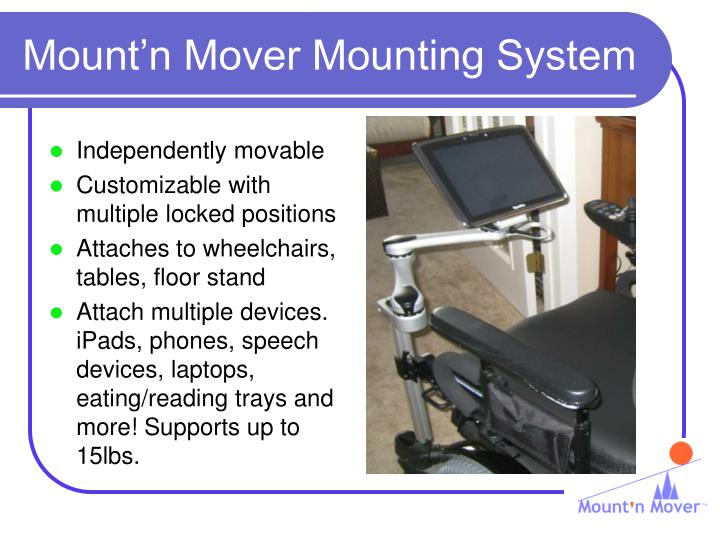 Mount n mover mounting system