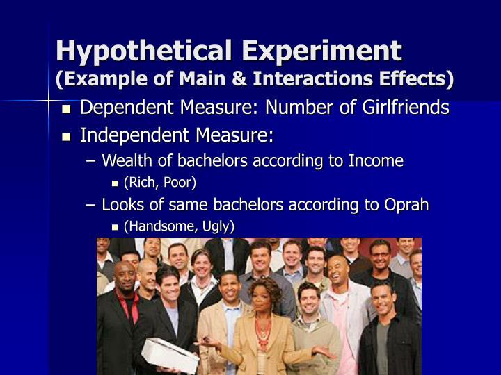 Hypothetical Experiment