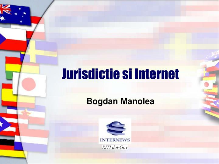 jurisdictie si internet n.