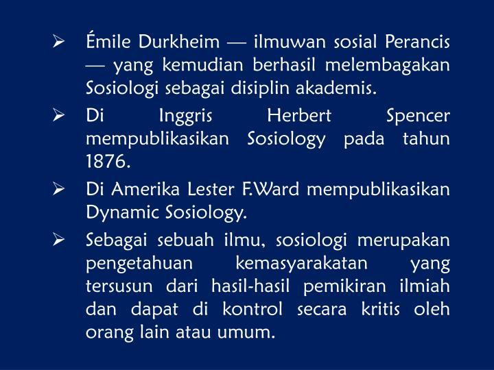 emile durkheim and herbert spencer