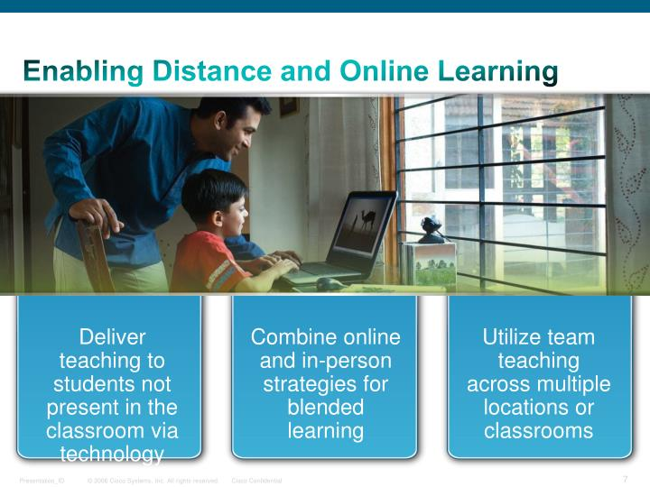 Enabling Distance and Online Learning