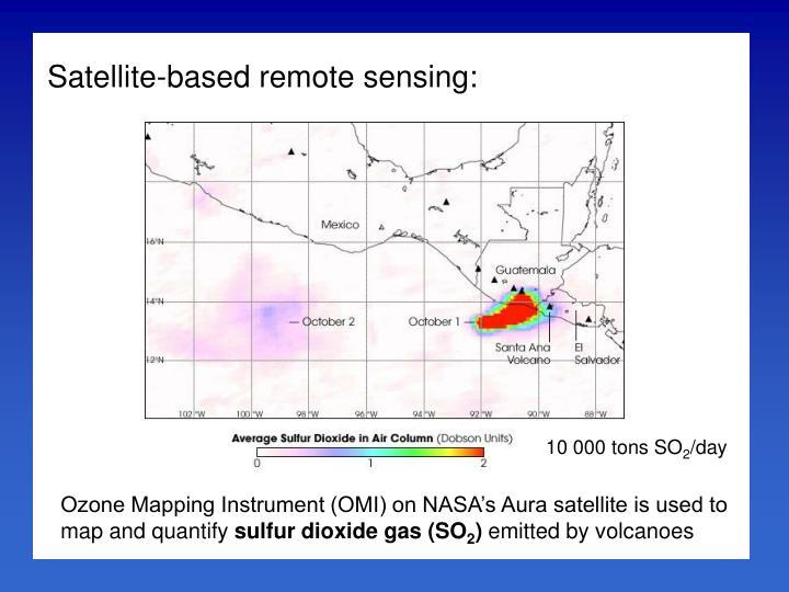 Satellite-based remote sensing: