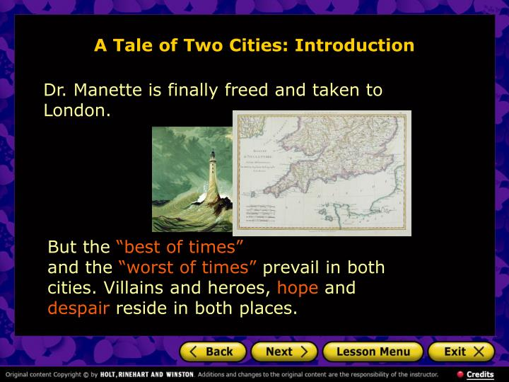 character sketch of doctor manette a tale of two cities Transcript of character analysis: a tale of two cities sydney carton proves the most dynamic character in a tale of two cities dickens uses doctor manette to.