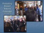 protesting biased tribune coverage also 10 26 05