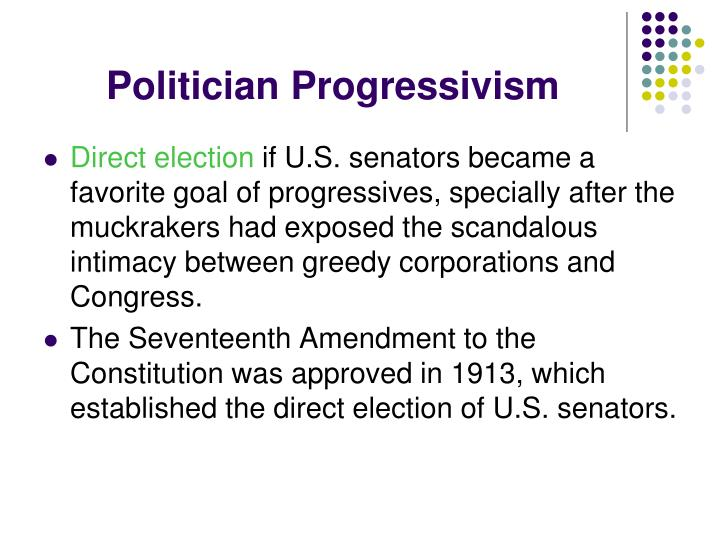 Politician Progressivism