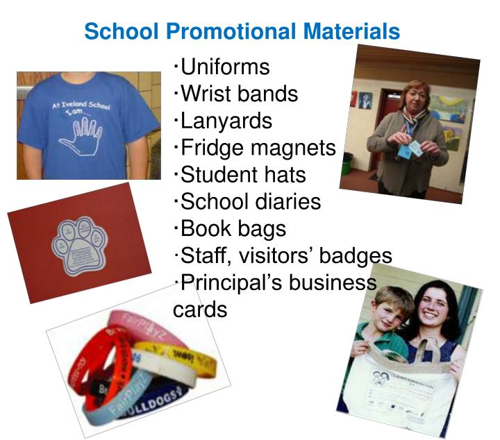 School Promotional Materials