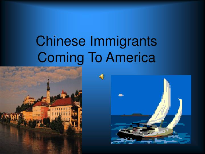 chinese immigrants coming to america n.