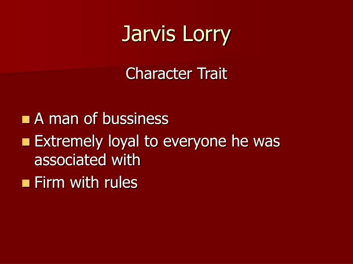 Jarvis Lorry