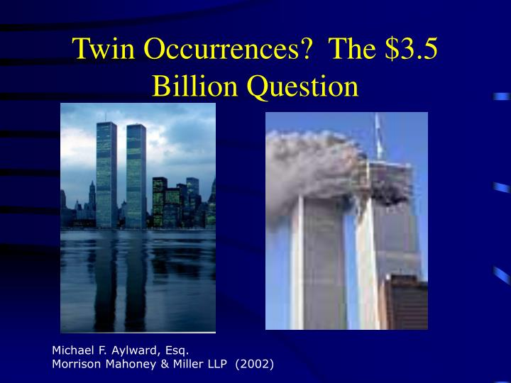 twin occurrences the 3 5 billion question n.