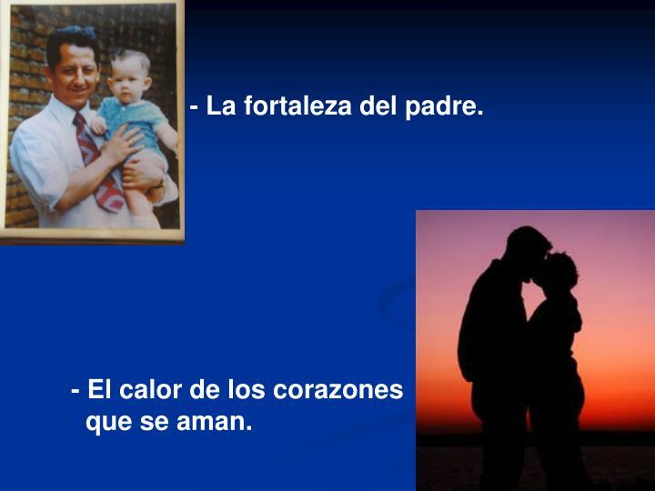 - La fortaleza del padre.