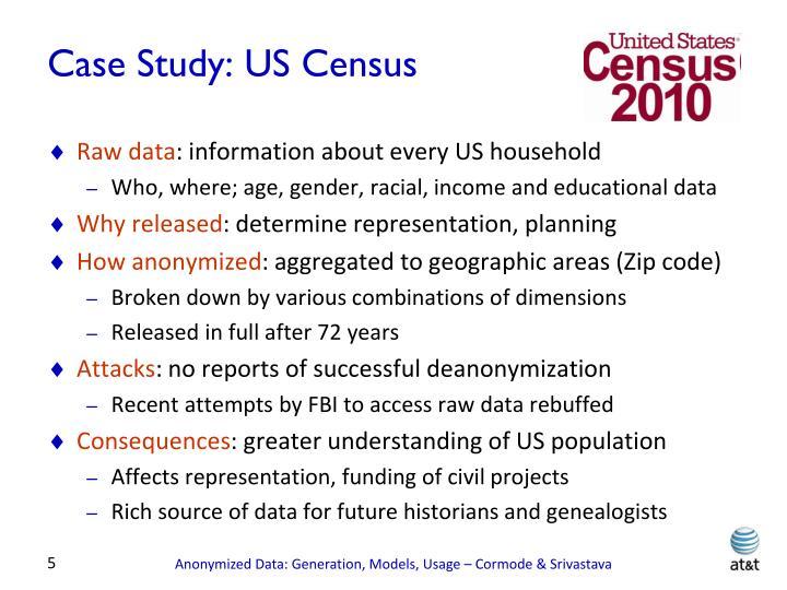 Case Study: US Census