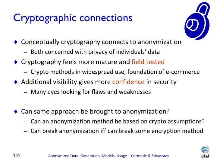 Cryptographic connections