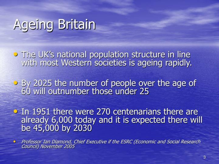 Ageing britain