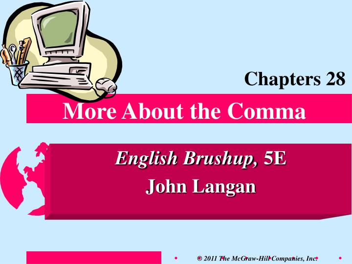 more about the comma n.
