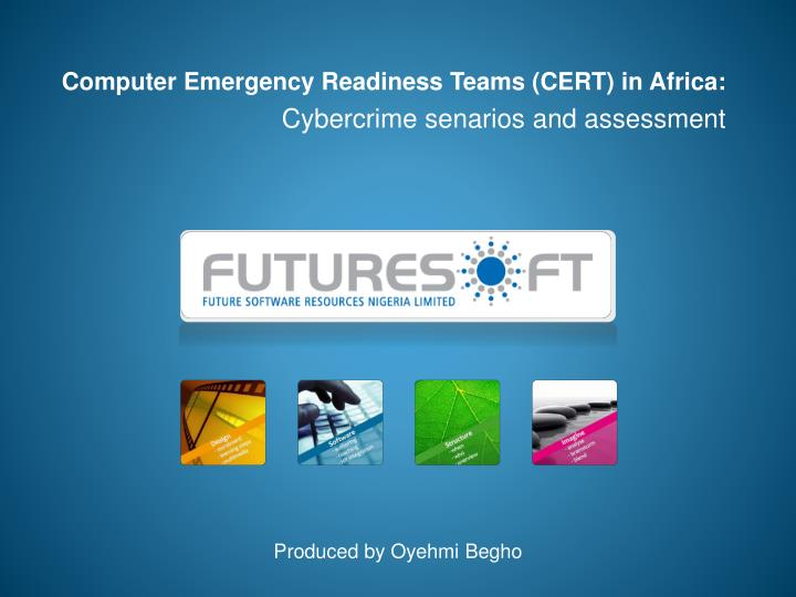 computer emergency readiness teams cert in africa cybercrime senarios and assessment n.
