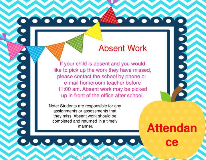 Absent Work