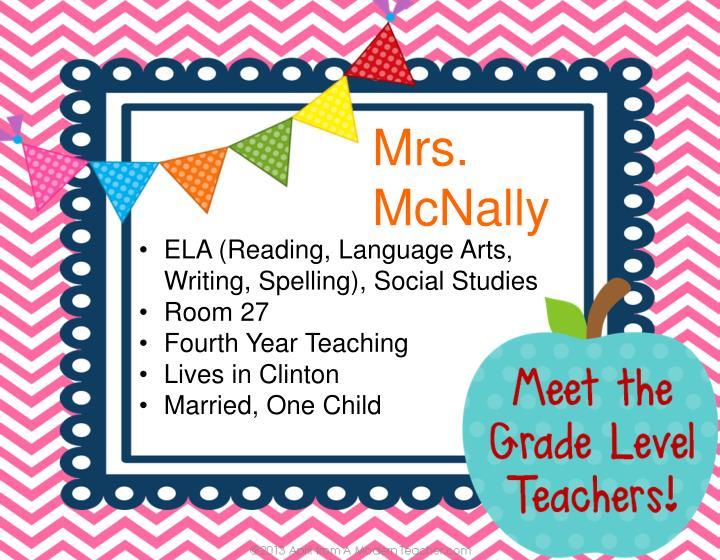 Mrs. McNally