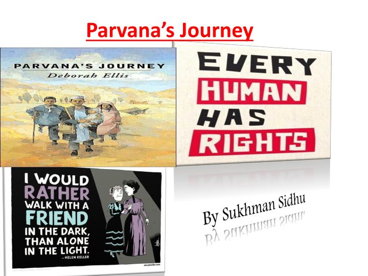 conflict in parvana s journey