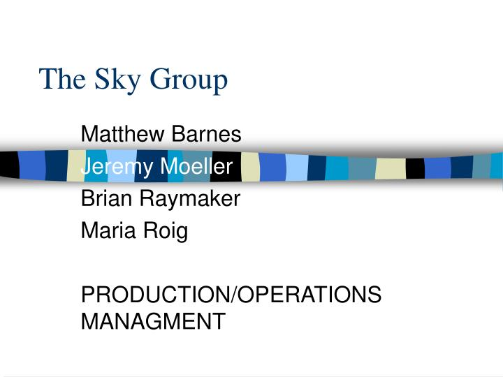 the sky group n.