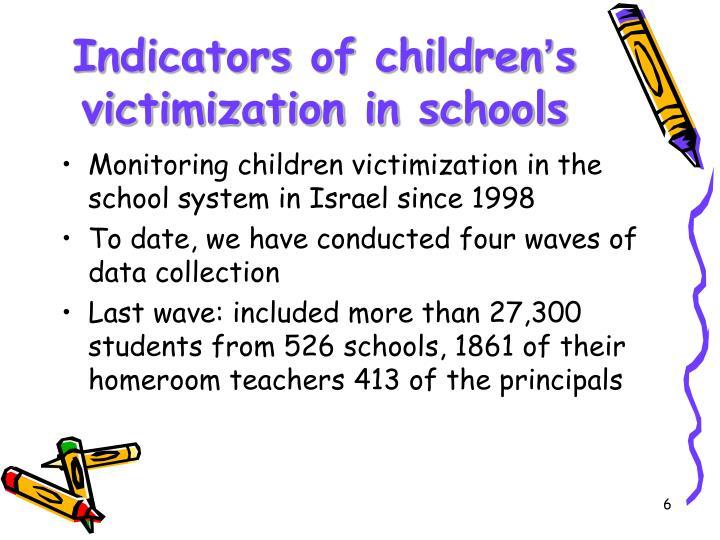 Indicators of children