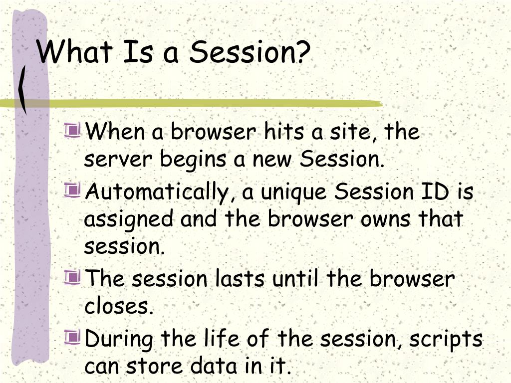 what is a session variable