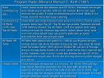 program radio menurut michael c keith 1987