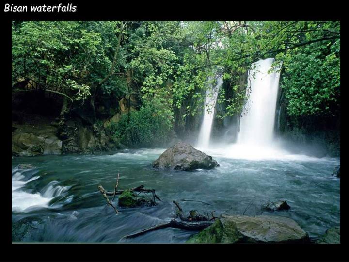 Bisan waterfalls