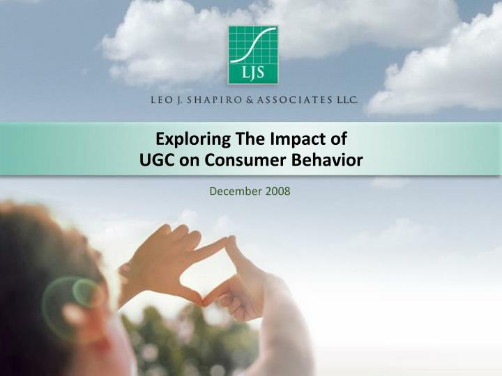 exploring the impact of ugc on consumer behavior n.