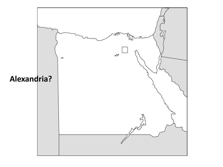 Alexandria?