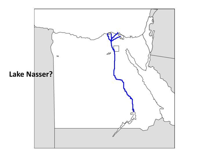 Lake Nasser?