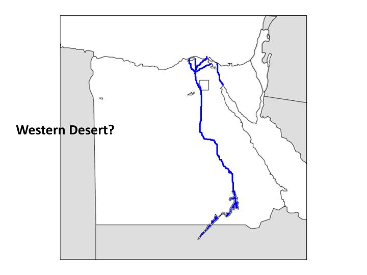 Western Desert?