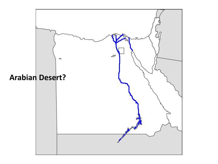 Arabian Desert?