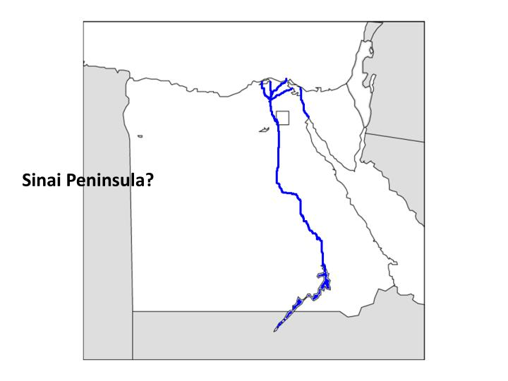 Sinai Peninsula?