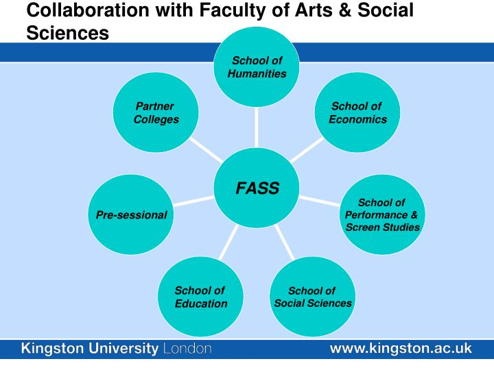 Collaboration with faculty of arts social sciences