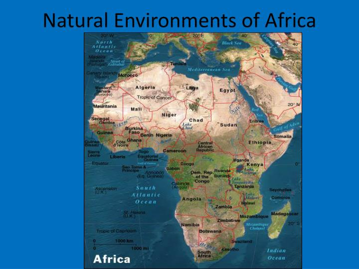 natural environments of africa n.