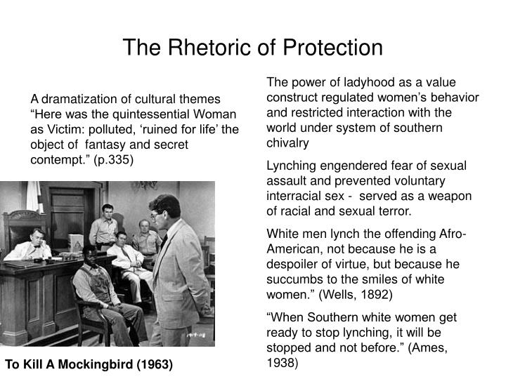 the rhetoric of protection n.