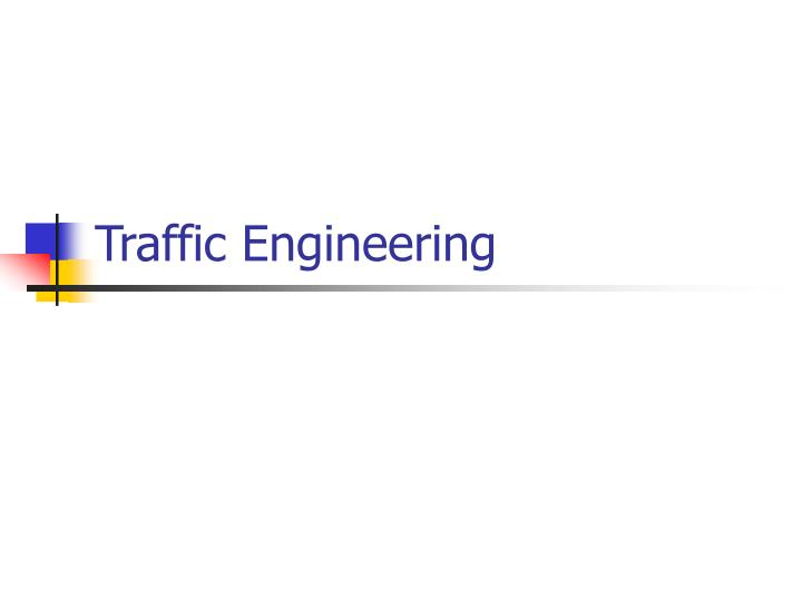 traffic engineering n.