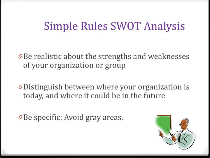 Simple Rules SWOT Analysis